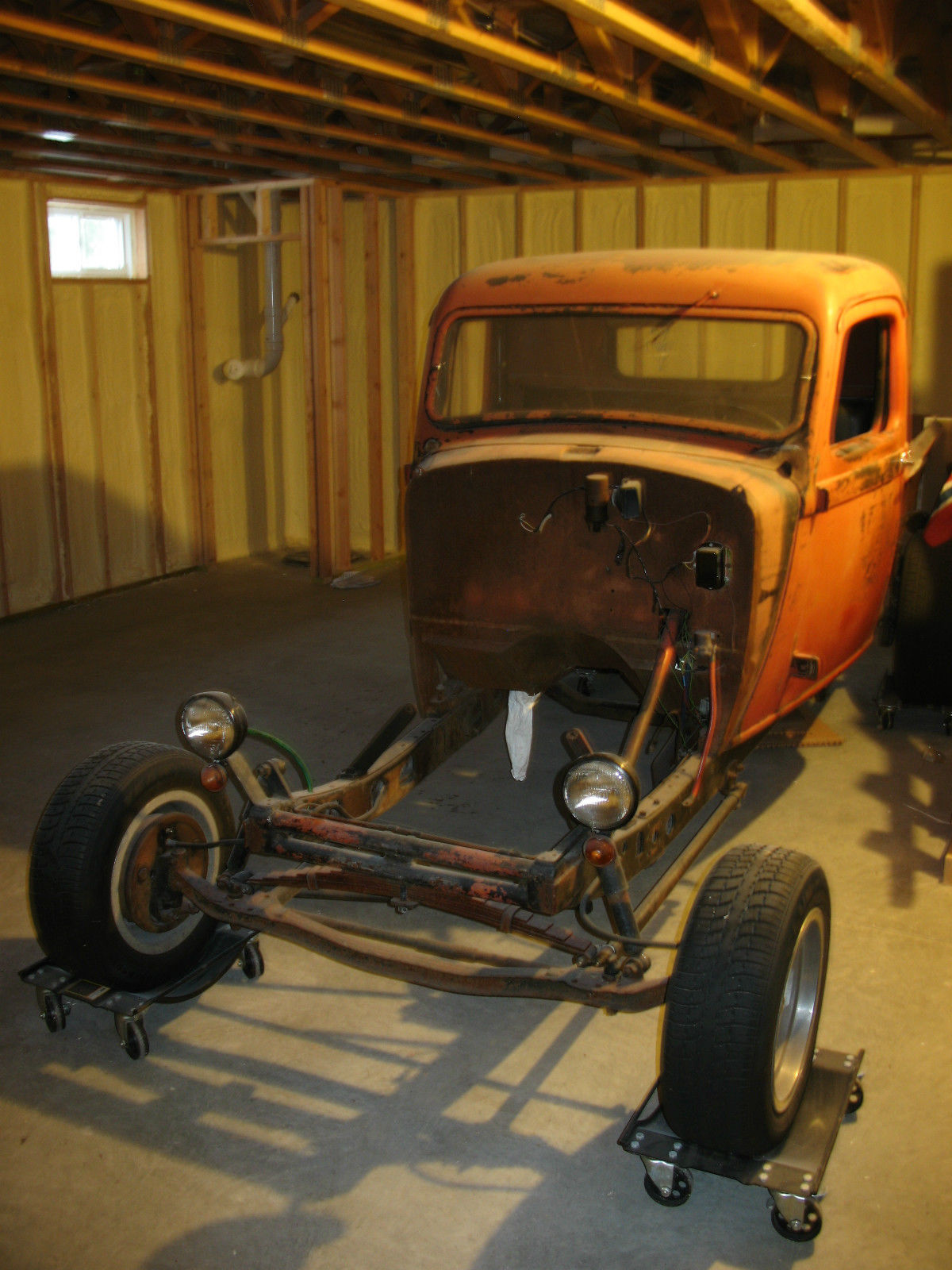 Build A Dodge Truck >> 1935 Dodge Brothers Pickup Project Hot Rod Rat 318 Poly D2 1936 Ford Flathead 37 - Classic Dodge ...