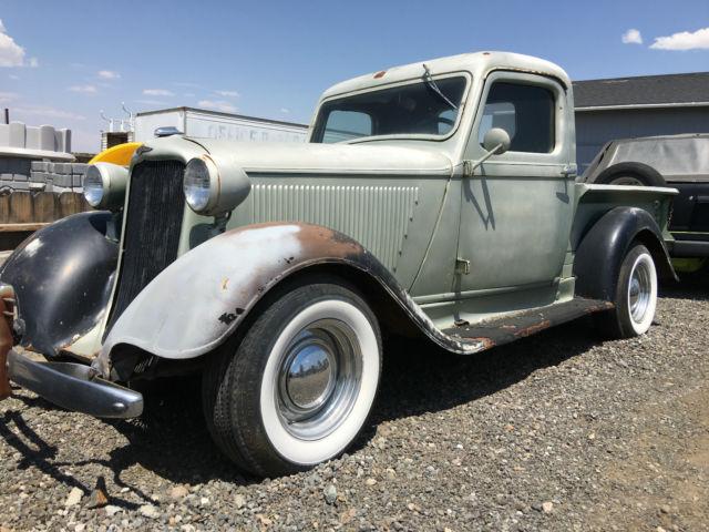 1935 Dodge Pickup Truck Kc Vintage Mopar 34 36 Patina Rat