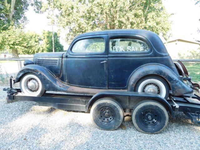 1935 ford 2 door slant back sedan classic ford 2 door for 1935 ford 2 door sedan