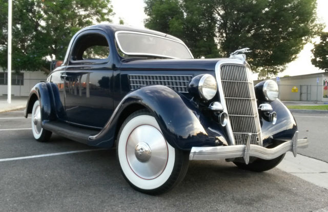 1935 Ford 3 Window Coupe Factory Rumble Seat 30 31 32 33