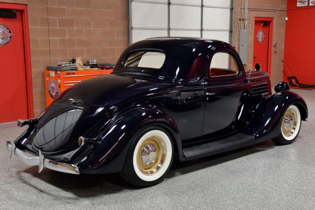 1935 ford 3 window coupe fresh concours rotisserie build for 1935 pontiac 3 window coupe