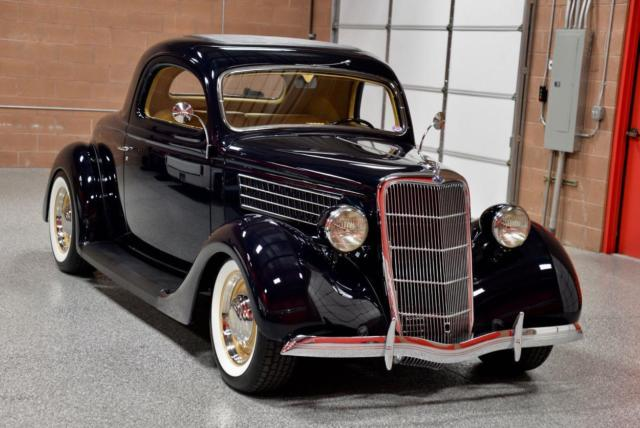 1935 ford 3 window coupe fresh concours rotisserie build for 1935 ford 3 window