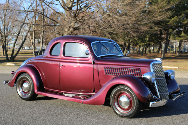 1935 ford 5 window coupe steel 302 v8 high end built for 1935 ford 5 window coupe for sale
