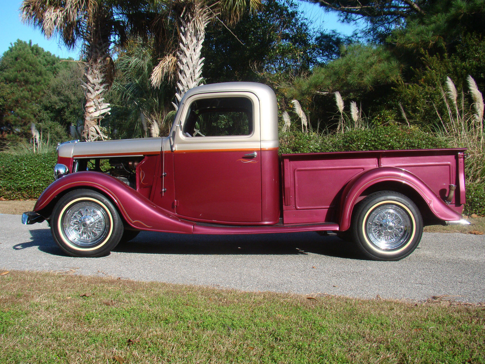 Ford F Restomod Pickup Truck All Steel Ground Up Restoration on Ford Engine Block Serial Number Location