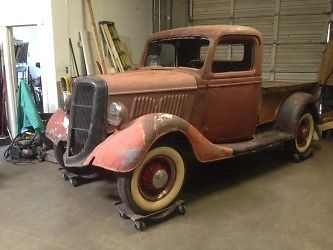 1935 ford pickup truck hot rod rat all steel classic ford other pickups 1935 for sale. Black Bedroom Furniture Sets. Home Design Ideas