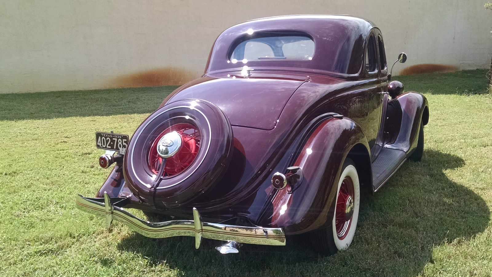1935 ford v8 85hp 5 window coupe no reserve classic ford for 1935 ford 5 window coupe for sale