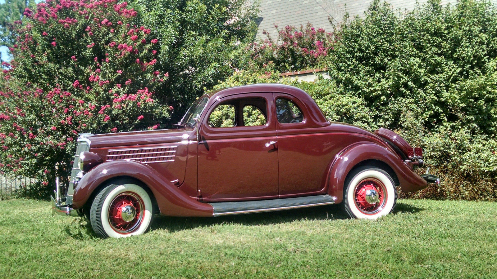 Ford V Hp Window Coupe No Reserve