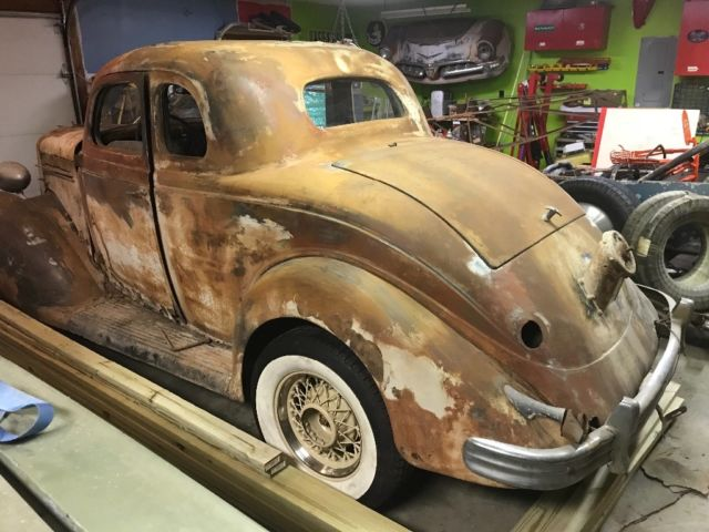 1935 Plymouth Pj Coupe Scta Trog Real 1950 226 S Hot Rod Not