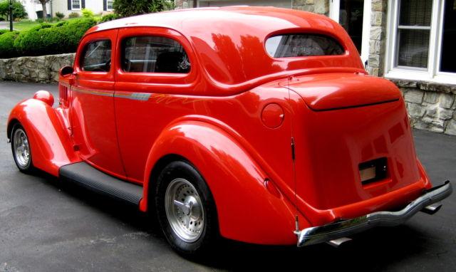 1936 2 door touring sedan steel resto rod 350 350 auto for 1936 ford 2 door sedan