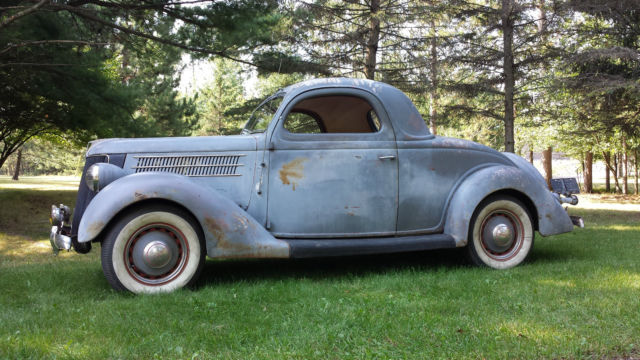 1936 36 ford 3w 3 window coupe hot rod old car vintage for 1936 ford three window coupe for sale