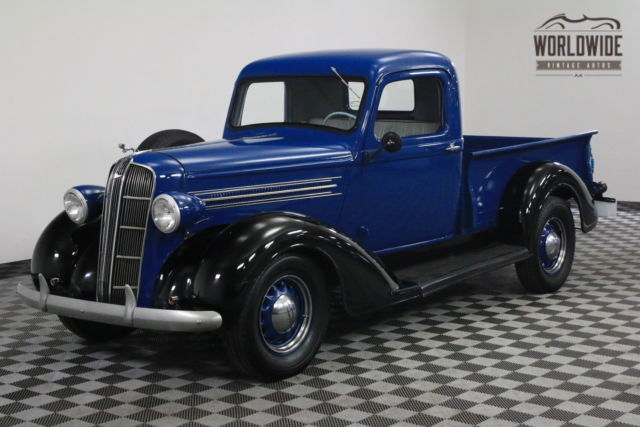 Used Truck Dealerships >> 1936 Blue DODGE BROTHERS PICKUP 1/2 TON VERY RARE! - Classic Dodge PICKUP 1936 for sale