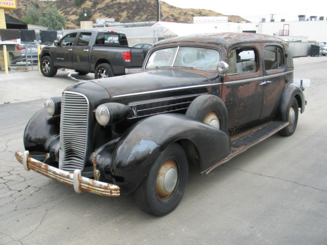 1936 cadillac v12 fleetwood limousine classic cadillac. Black Bedroom Furniture Sets. Home Design Ideas