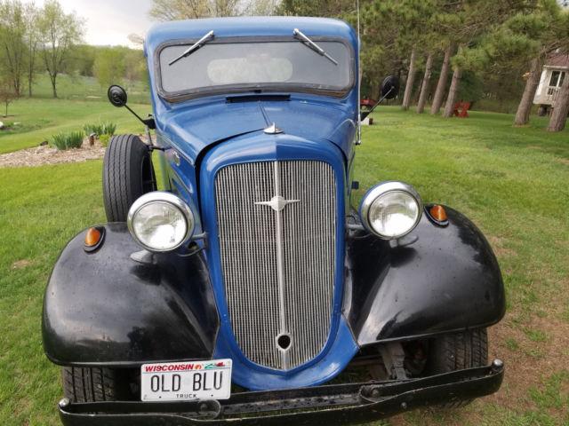1936 Chevrolet Short Cab 1  2 Ton Pickup Truck