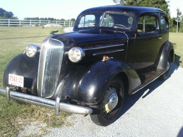 1936 chevy 2 door sedan slant back all original running for 1936 chevy sedan 4 door