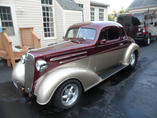 1936 chevy 5 window pro street hot rod street rod custom classic antique classic. Black Bedroom Furniture Sets. Home Design Ideas