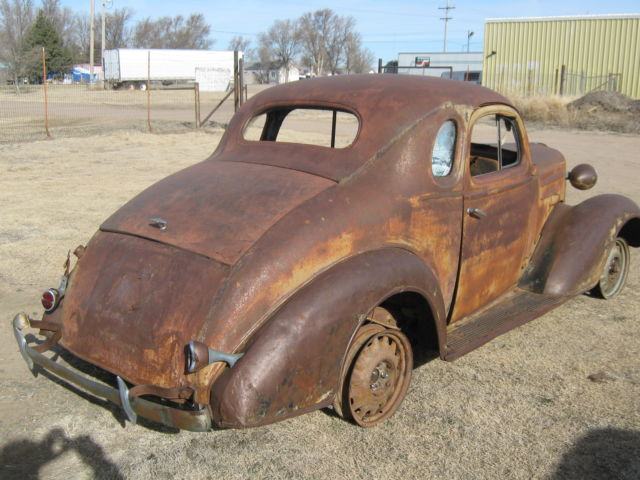 1936 CHEVY BUSINESS COUPE - Classic Chevrolet Other 1936 for