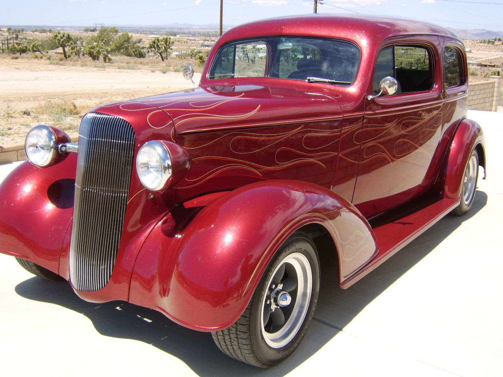 1936 Chevy Custom Resto Mod Restored Hotrod Calif Car Ps