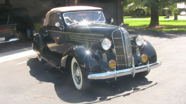 1936 Dodge D2 Rumble Seat Convertible Coupe - Classic ...