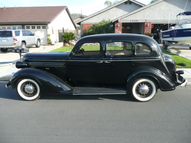 1936 dodge d2 touring sedan 4 door california car for 1936 dodge 4 door sedan