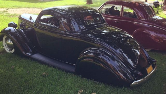 1936 ford 3 window coupe all steel custom coupe real for 1936 lincoln zephyr three window coupe