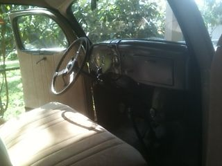 1936 ford 4 door all steel body tan sedan 4 new tires tubes new upholstery classic ford. Black Bedroom Furniture Sets. Home Design Ideas