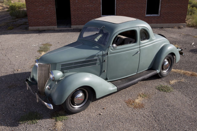 1936 ford 5 window coupe hot rod custom 3 speed 283 sbc for 1936 ford 5 window coupe for sale