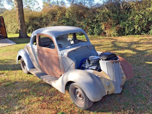 1936 ford 5 window coupe street rod roller project for 1936 ford 5 window coupe for sale