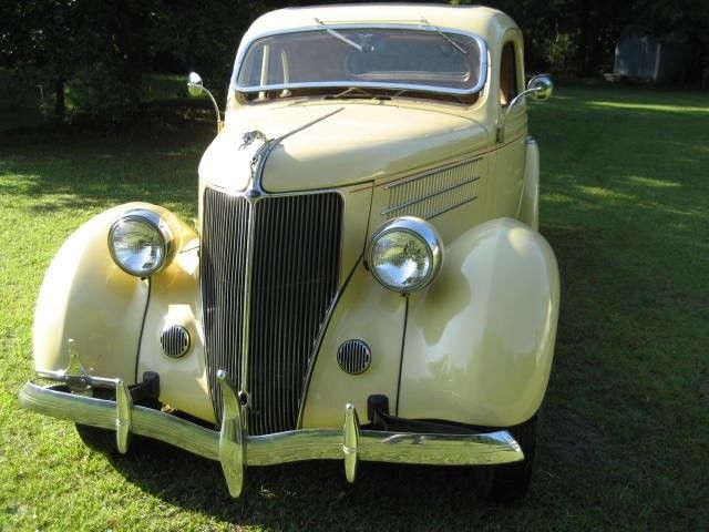 1936 Ford Deluxe 5 Window Coupe Flathead All Steel 59ab