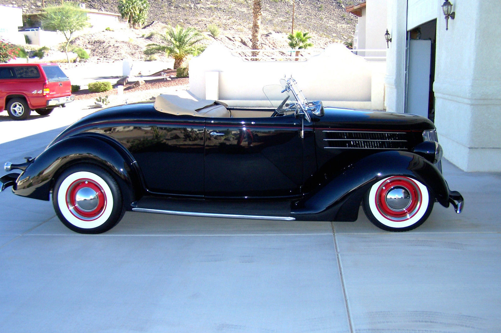 1936 Ford Deluxe Rumble Seat Roadster All Steel Classic