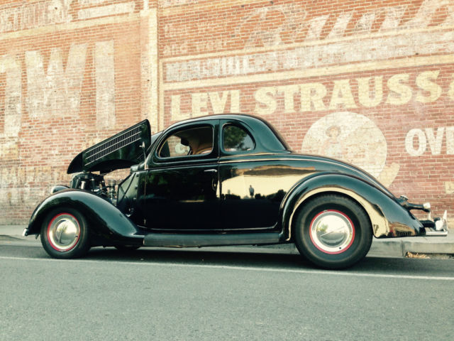 Doug Henry Ford >> 1936 Ford Five window coupe, all steel, Flat head Mercury V8, Old School hot rod - Classic Ford ...