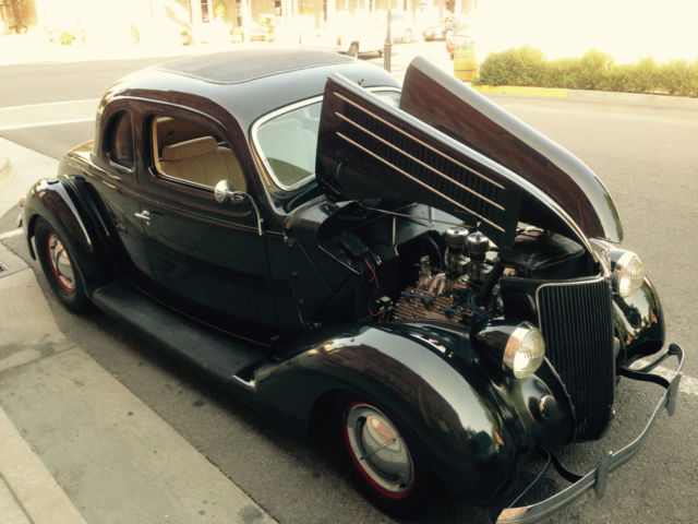 1936 ford five window coupe all steel flat head mercury for 1936 ford five window coupe