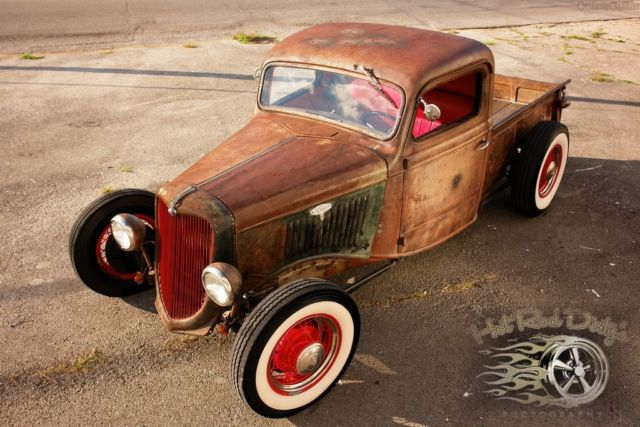 Ruby as well Ford Hot Rod Pick Up For Sale likewise  additionally  moreover Ford Hot Rod Patina Street Rat Chopped Pickup Truck Ford Hotrod Traditional. on 1936 ford pickup rat rod truck