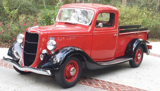 1936 Ford Pick Up Truck V8 221 85 Hp Quot Lb Quot Super Rare