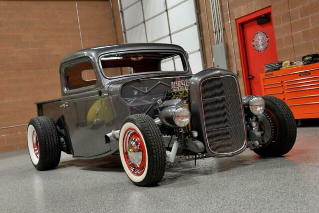 Used Cars St George Utah >> 1936 FORD PICKUP All-Steel 'HOT ROD' Show Truck! Hydraulic 'DUMP TRUCK' Bed! - Classic Ford ...