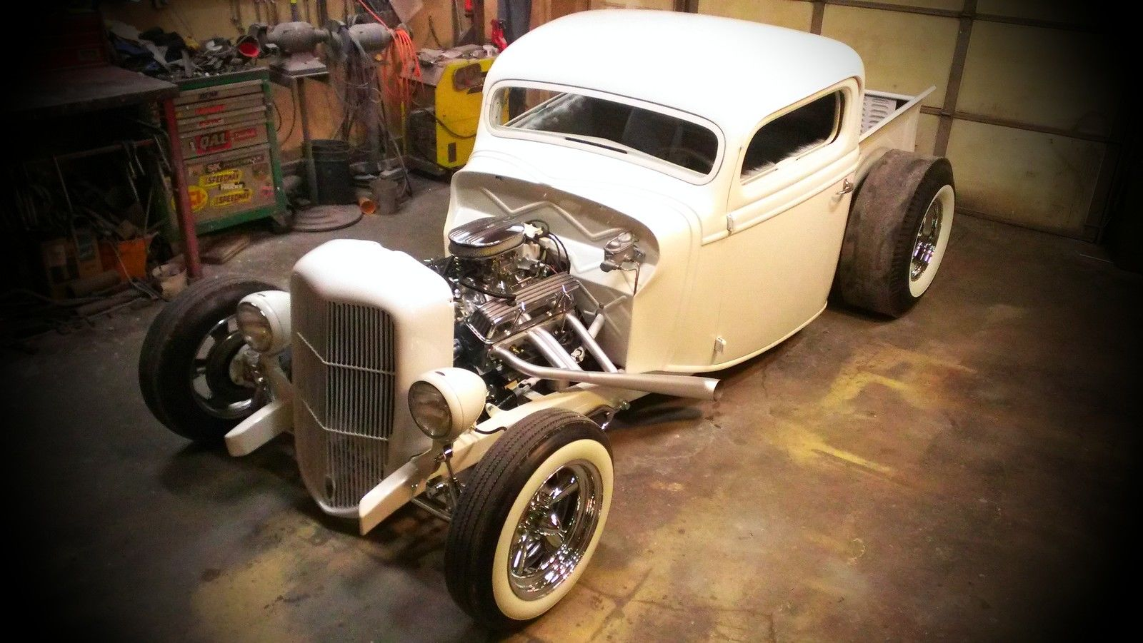 1936 Ford Pickup NO RESERVE! Hot Rod Custom Traditional ...