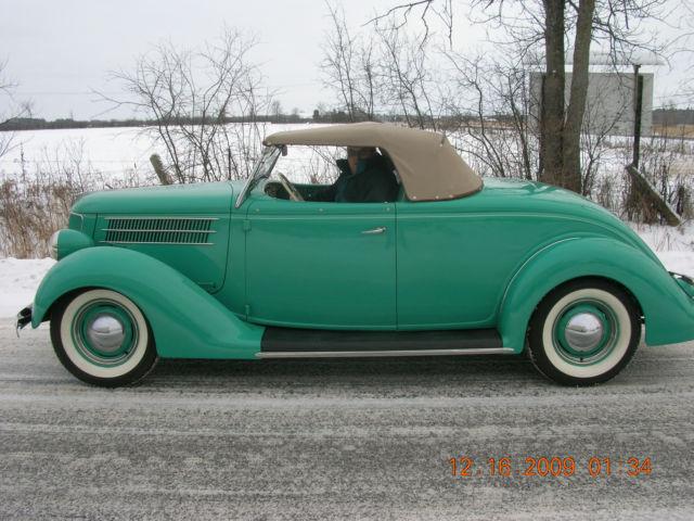 1936 Ford Roadster 1932 1934 1940 Old Skool Hot Rod