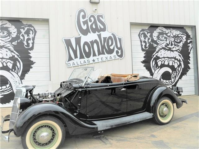 1936 ford roadster 50 39 s style mild custom offered by gas for Garage ford paris 11