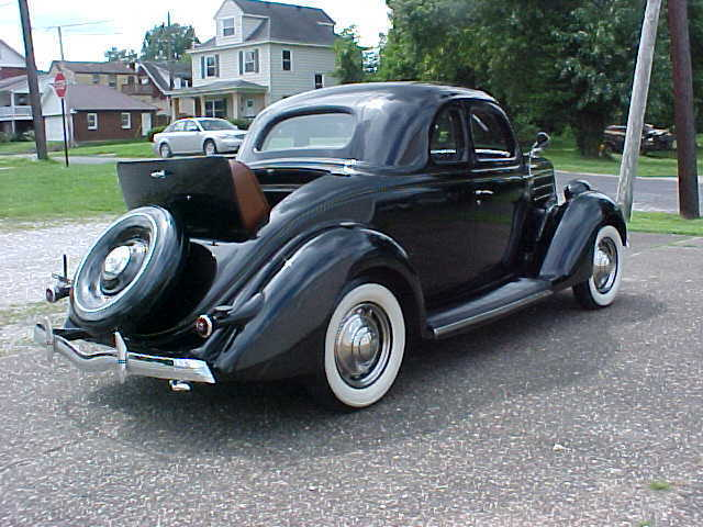 1936 Ford Rumble Seat Coupe Classic Ford Rumble Seat