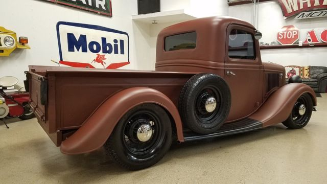 Ford Truck Pickup Lowered Nostalgia Hot Rod Rat Rod C Bagged Chopped on 1936 ford pickup rat rod truck