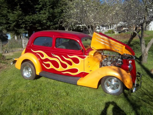 1936 ford tudor slantback pumped flathead 2x2 39 s c4 auto 9 for 1936 ford 2 door slant back