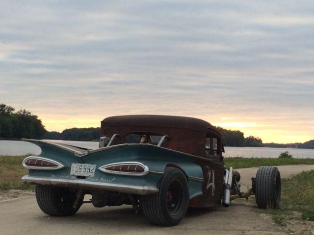 International Rat Rod Truck Blown Hot Rod Custom Gasser on Rat Rod Pedal Car