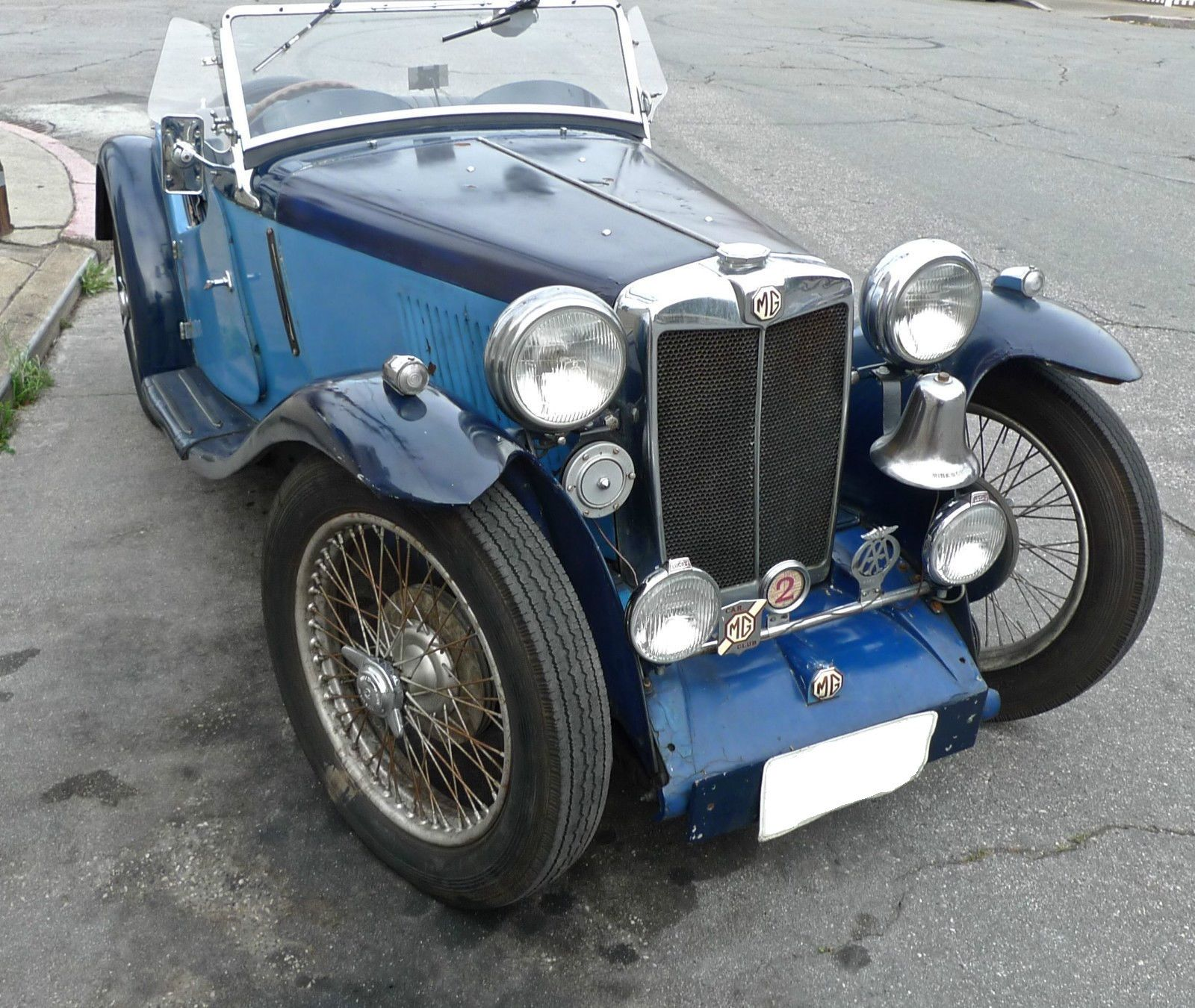 1936 MG PA RESTORATION PROJECT