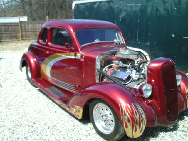 1936 plymouth 5 window coupe pro street hot rod tube for 1936 plymouth 5 window coupe sale