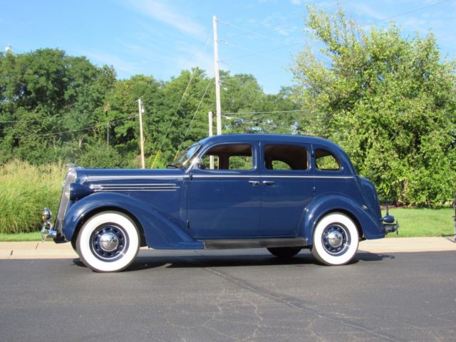 1936 Plymouth Deluxe Kissing Door Floor Shift Restored