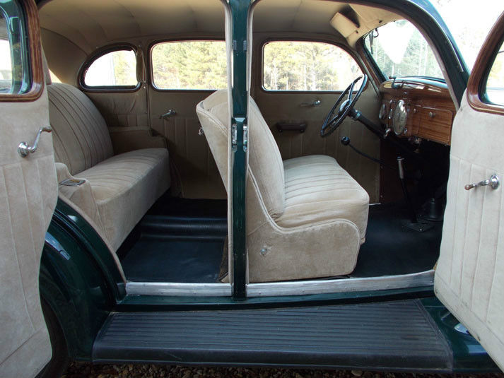 1936 Plymouth P2 Four Door Touring Sedan Classic