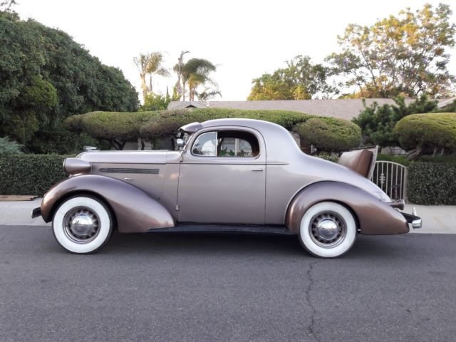 1936 pontiac 3 window coupe w factory rumble seat 1935 for 1936 pontiac 3 window coupe for sale
