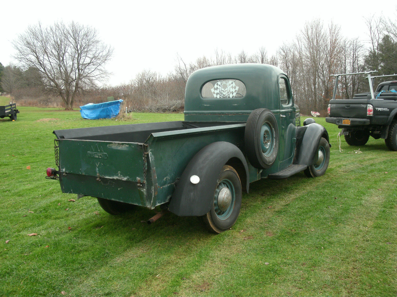 1937 1 2 Ton International Pick Up Classic International