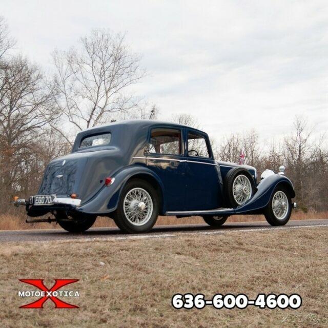 1937 Bentley 4 ¼ Litre Thrupp Maberly Four-door Salon