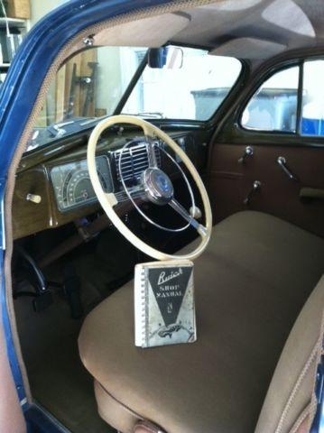 1937 Buick Special Model 41 Series 40 4 Door Sedan