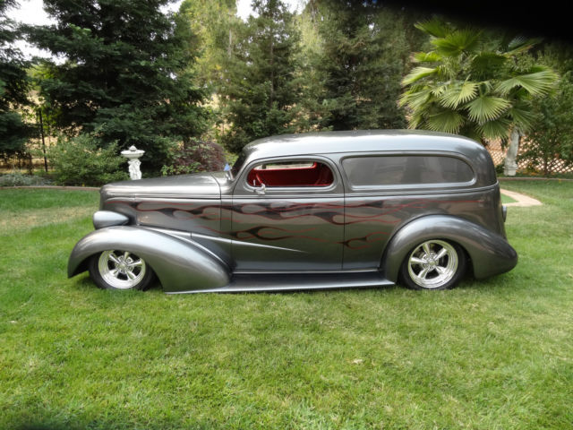 1937 Chevrolet Sedan Delivery Pro Touring Show Hot Rod